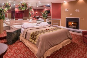 Honeymoon Romantic Suite With Hot Tub and Fireplace